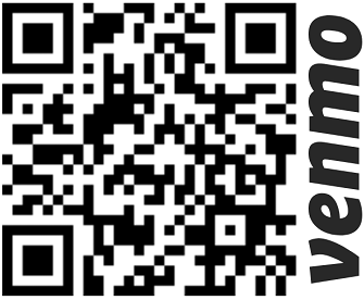QR code for Henrique's venmo account